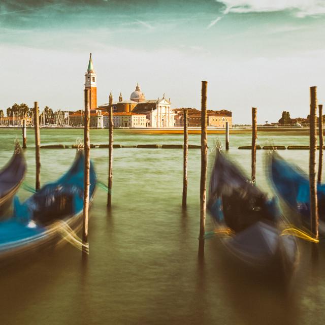 """The magic of Venice..."" stock image"