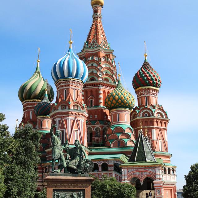 """Saint Basil's Cathedral"" stock image"