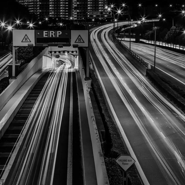 """Expressway - Study 1"" stock image"