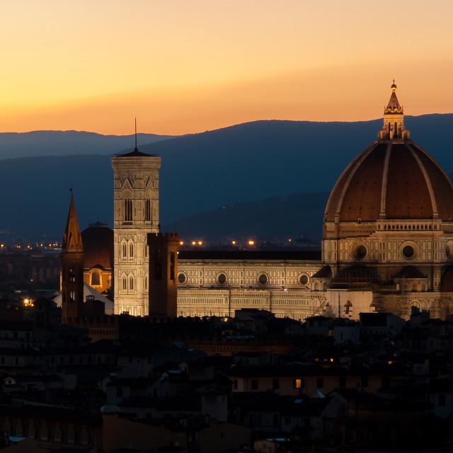 """""""Cattedrale di Santa Maria del Fiore"""" stock image"""
