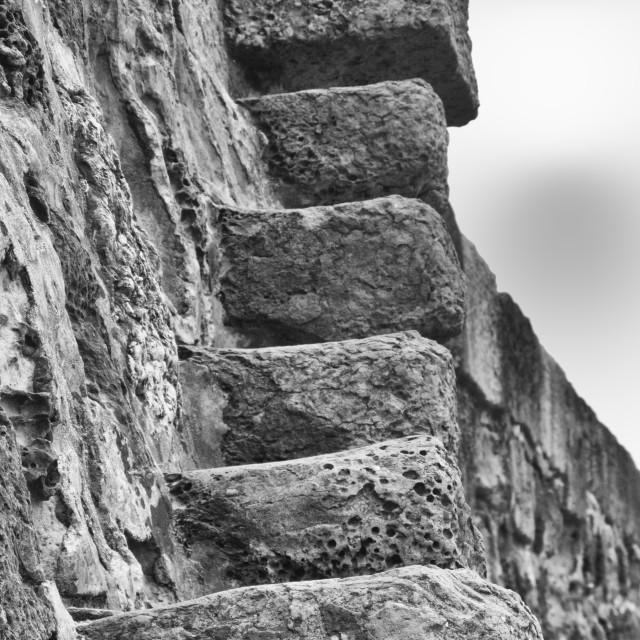 """Stone steps"" stock image"