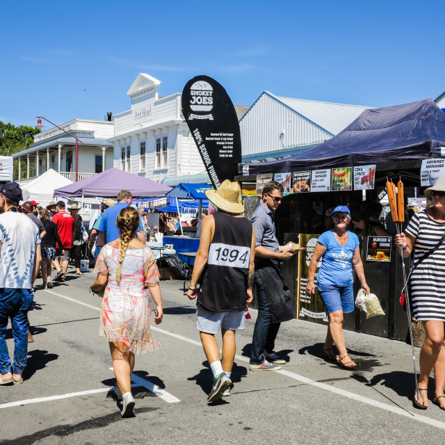 """Martinborough Fair"" stock image"