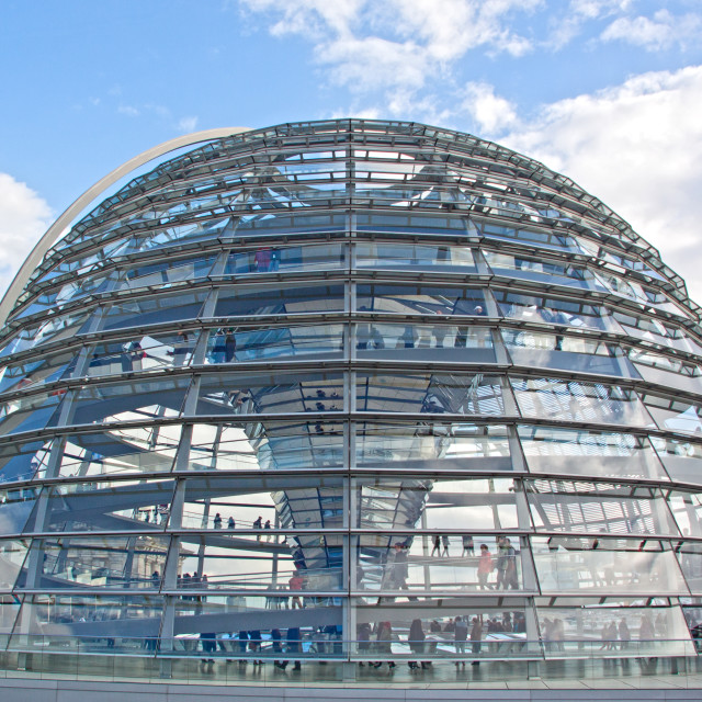 """""""Reichstag Dome"""" stock image"""