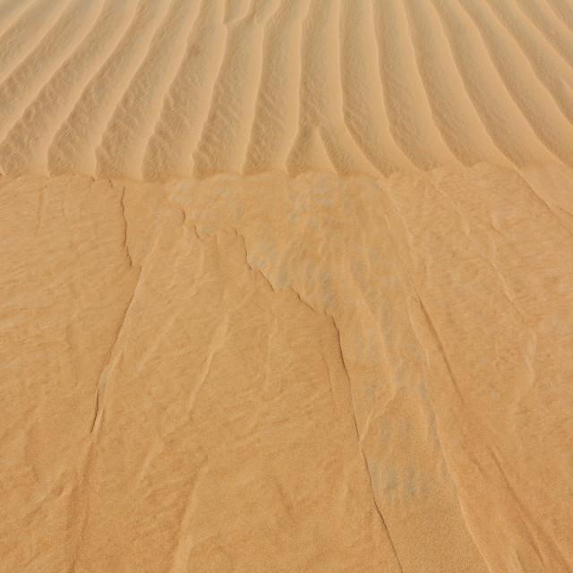 """""""Desert Landslide Texture"""" stock image"""