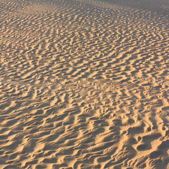 """""""Early Morning Sand Texture"""" stock image"""