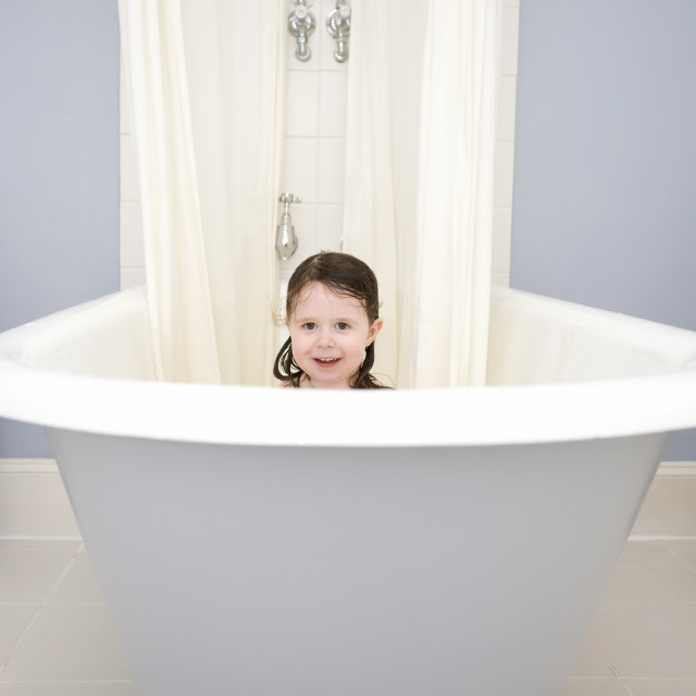 """Bath time"" stock image"