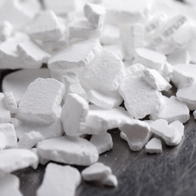 """""""Calcium Chloride"""" stock image"""