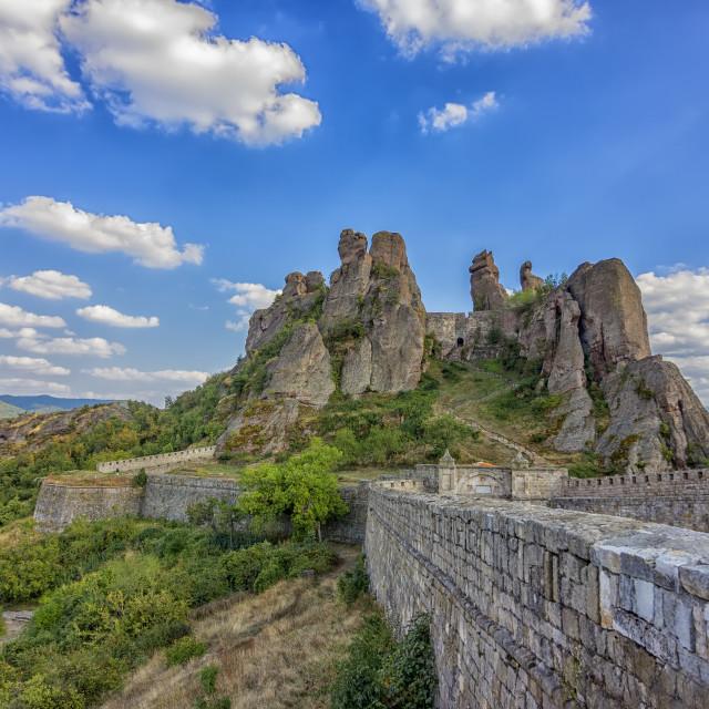 """Belogradchik rocks."" stock image"