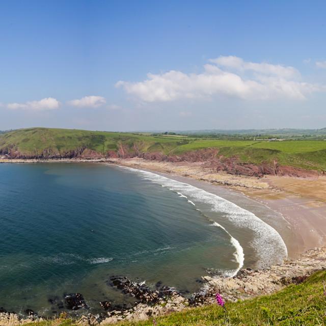 """Swanlake Bay, Pembrokeshire"" stock image"