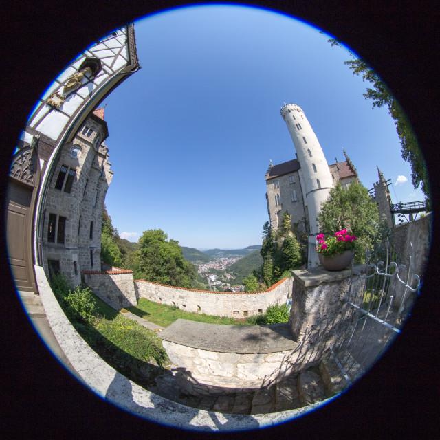 """""""Lichtenstein Castle"""" stock image"""