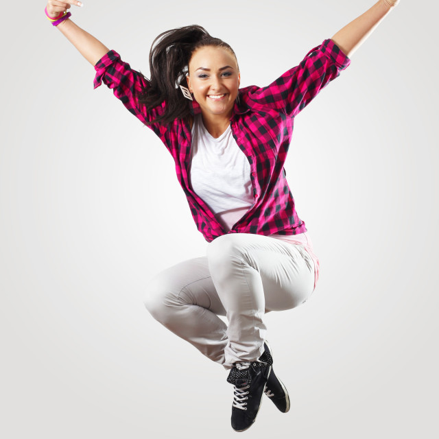 """""""The Dancer"""" stock image"""