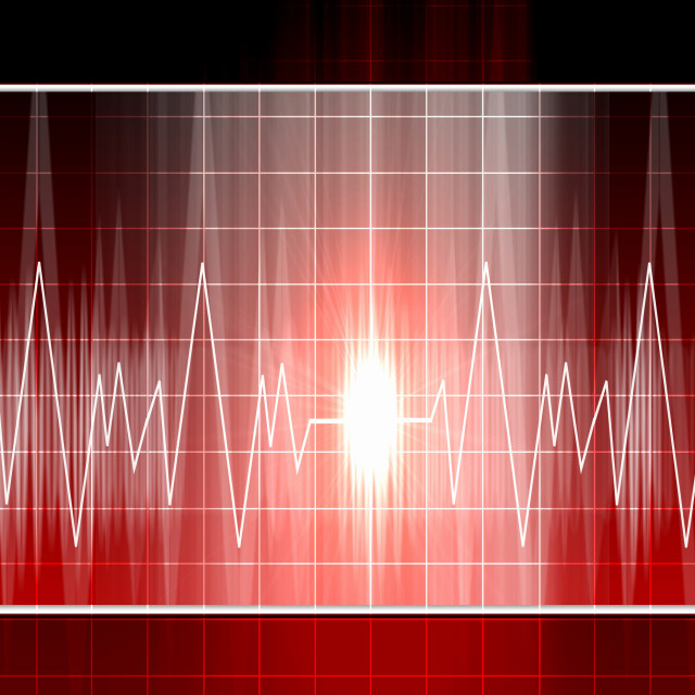 """heartbeat in the background"" stock image"