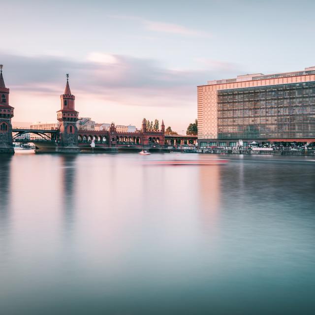 """Oberbaumbrücke | Berlin, Germany 2015"" stock image"