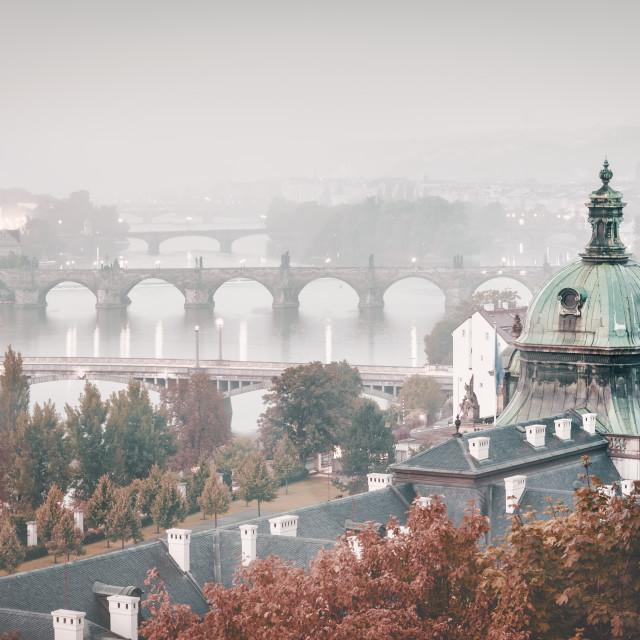 """Karlův most | Prague, Czech Republic 2012"" stock image"