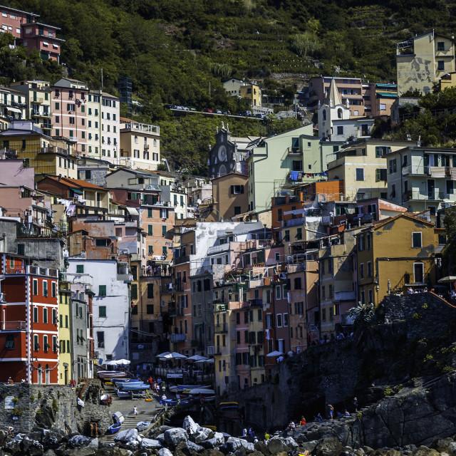 """""""Manarola Italy"""" stock image"""