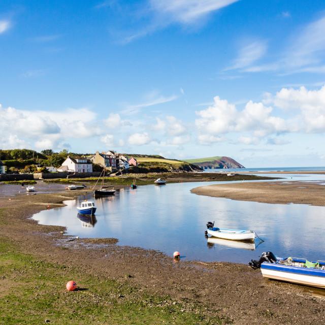 """Newport, Pembrokeshire"" stock image"