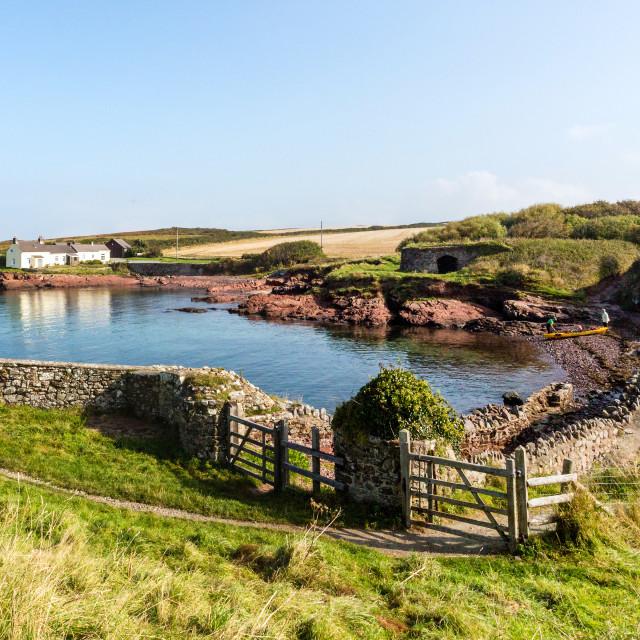 """""""St Brides, Pembrokeshire."""" stock image"""