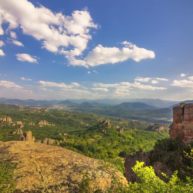 """Belogradchik rocks. Bulgaria."" stock image"