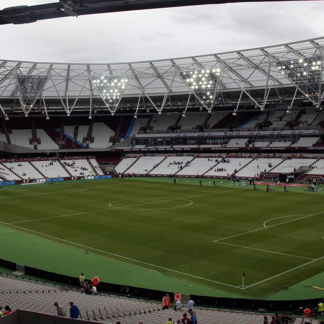 """Inside The London Stadium"" stock image"