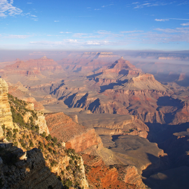"""Grand Canyon Sunrise"" stock image"