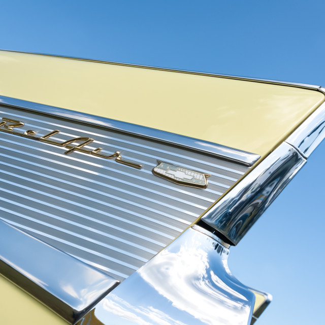 """Chevrolet Bel Air"" stock image"