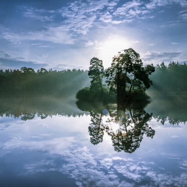 """""""floating island…."""" stock image"""