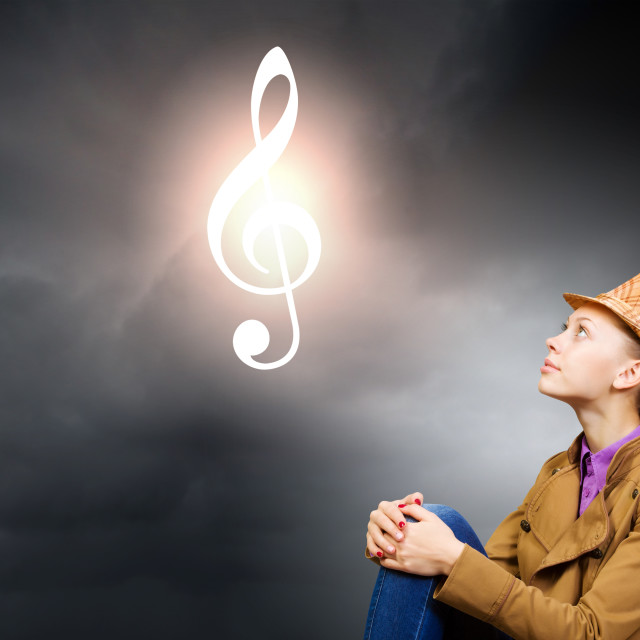 """Music concept"" stock image"