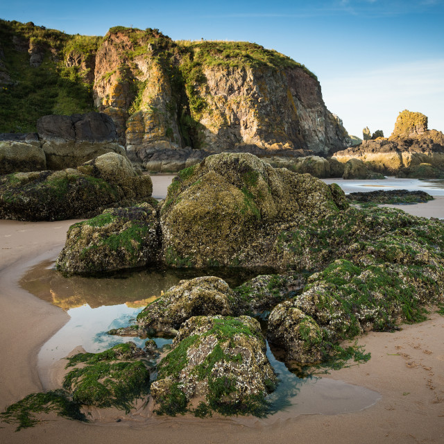 """Lunan Beach"" stock image"