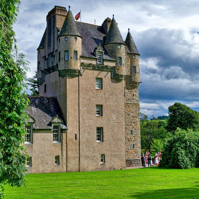 """Castle Fraser"" stock image"