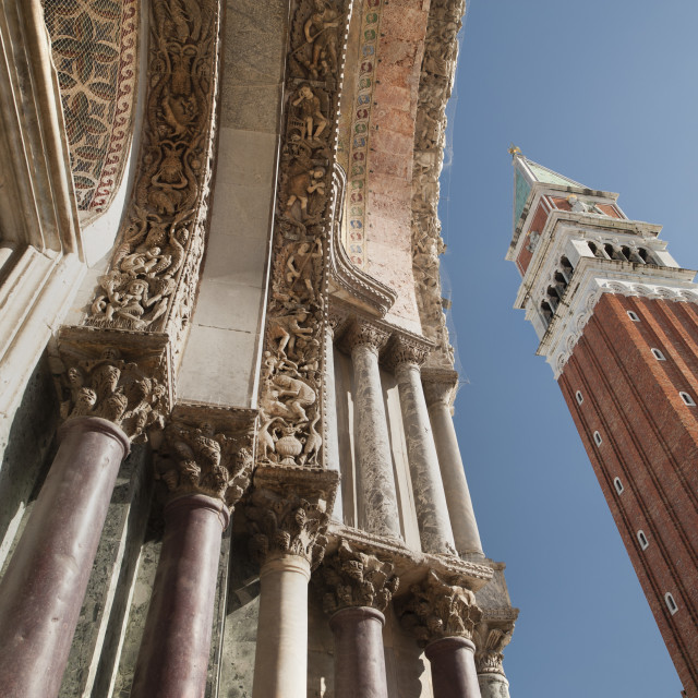 """Venezia Bell Tower"" stock image"