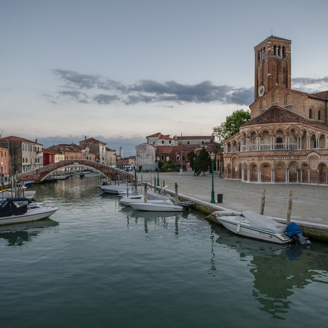 """Murano Cathedral"" stock image"