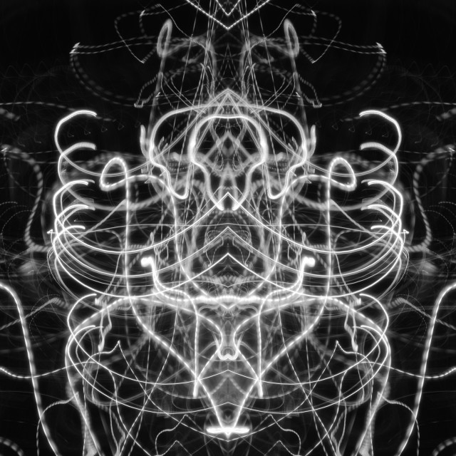 """""""Light within Order & Chaos #2"""" stock image"""