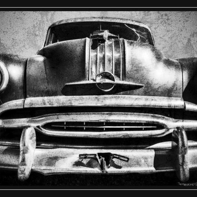 """""""I'M A Pontiac"""" stock image"""