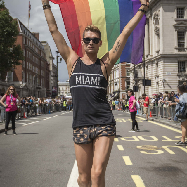 """London Pride"" stock image"