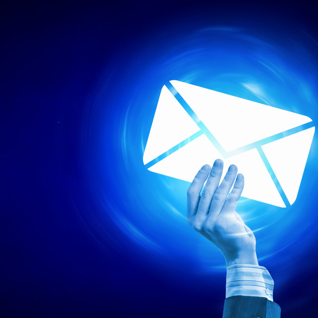 """Email concept"" stock image"