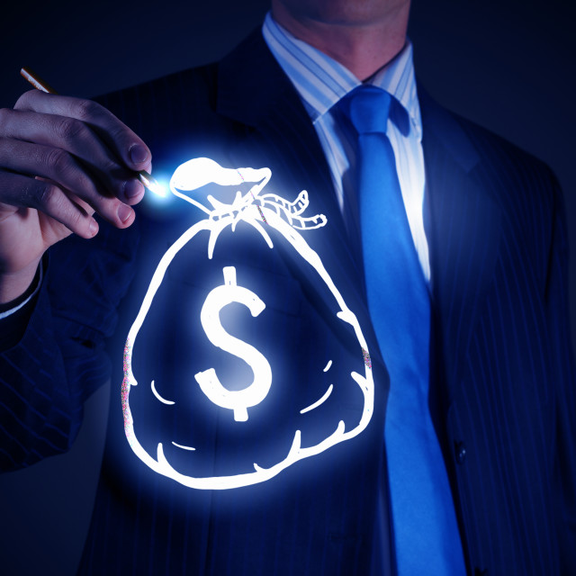 """""""Money earning concept"""" stock image"""
