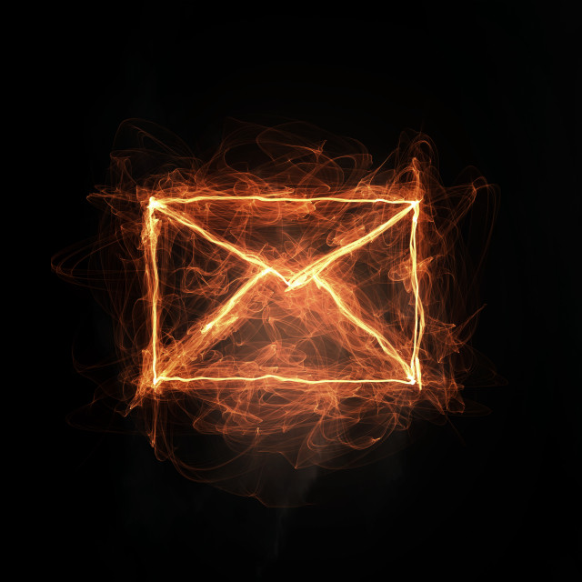 """Email conceptual image"" stock image"