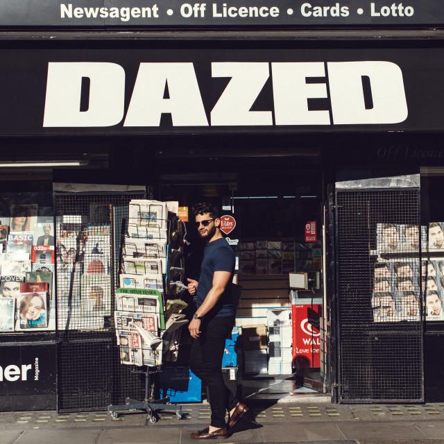 """Dazed"" stock image"