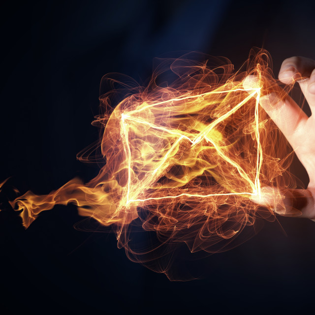 """Email messaging concept"" stock image"