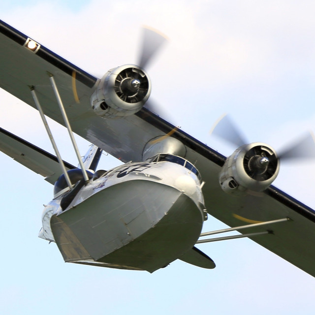 """Consolidated Catalina"" stock image"
