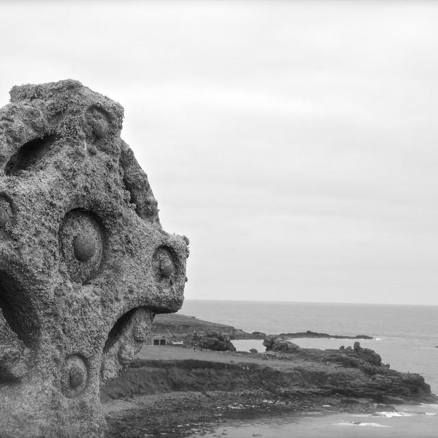 """The Celtic Cross"" stock image"