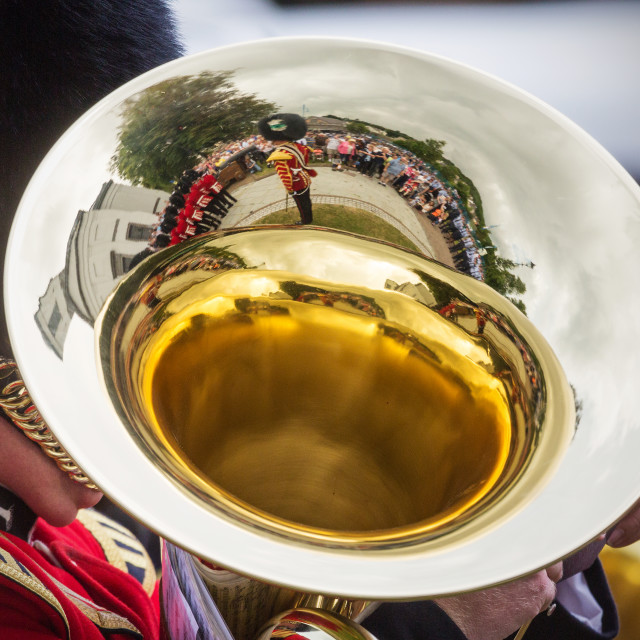 """Military Band"" stock image"