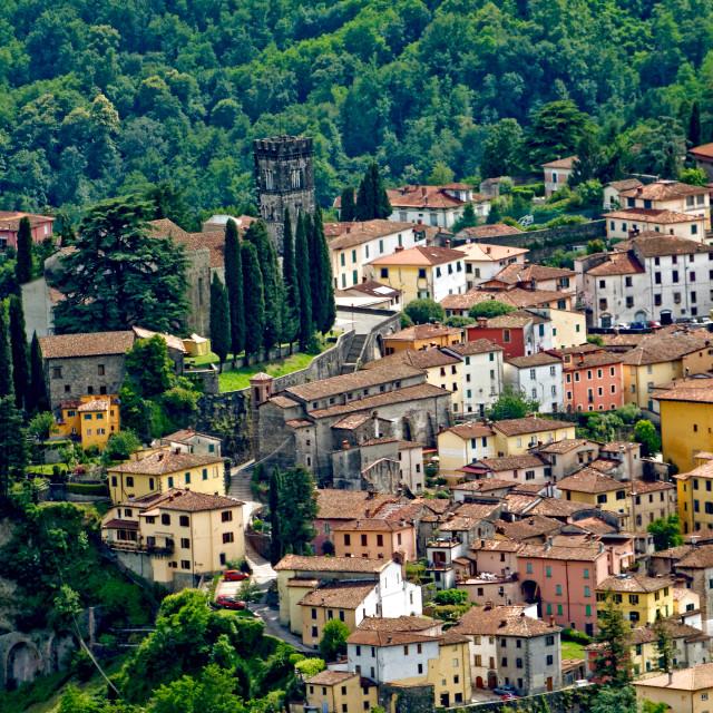 """""""Barga, Tuscany"""" stock image"""