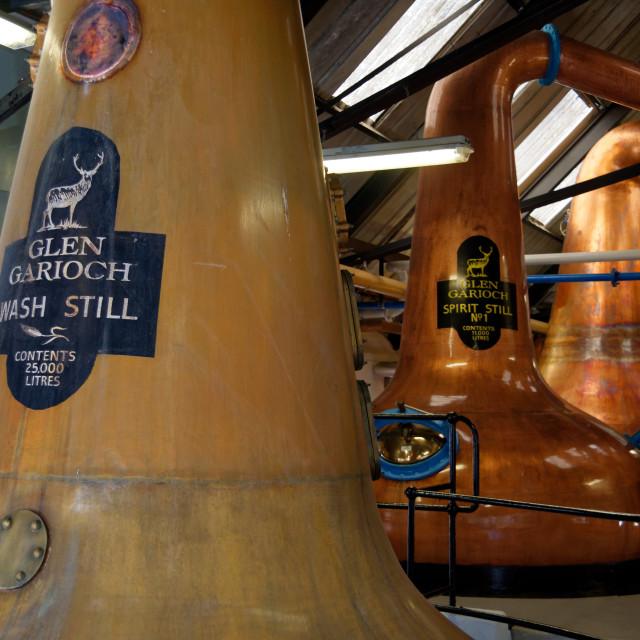 """""""Glen Garioch Distillery"""" stock image"""