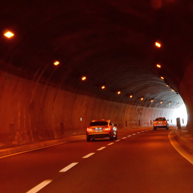"""Road Tunnel"" stock image"