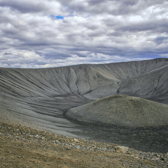 """""""Crater"""" stock image"""