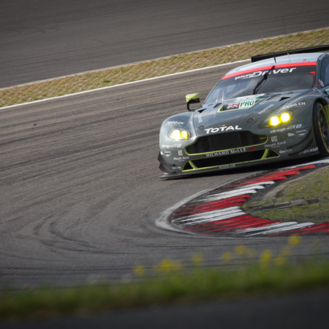 """Aston Martin Racing, Nurburgring"" stock image"