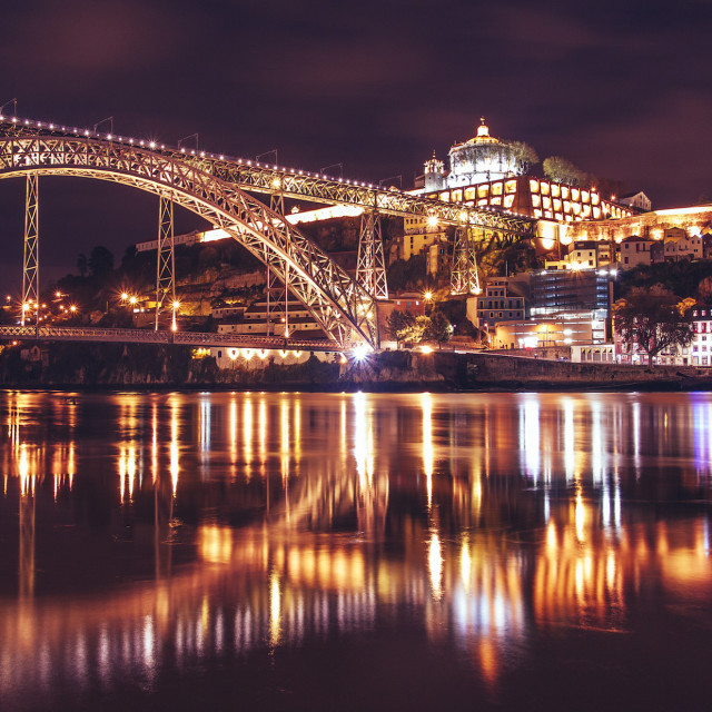 """Ponte Luís I Bridge - Porto"" stock image"