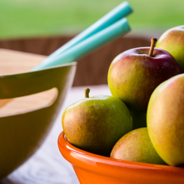 """Bowl of Apples"" stock image"