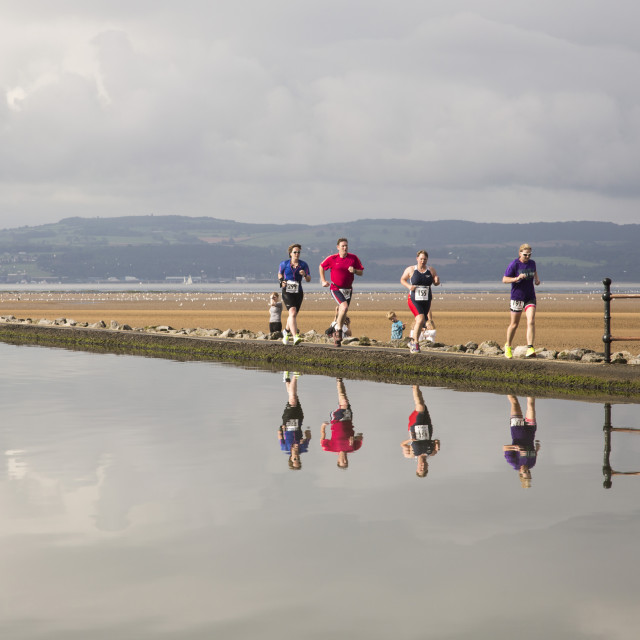 """Wirral Triathlon"" stock image"